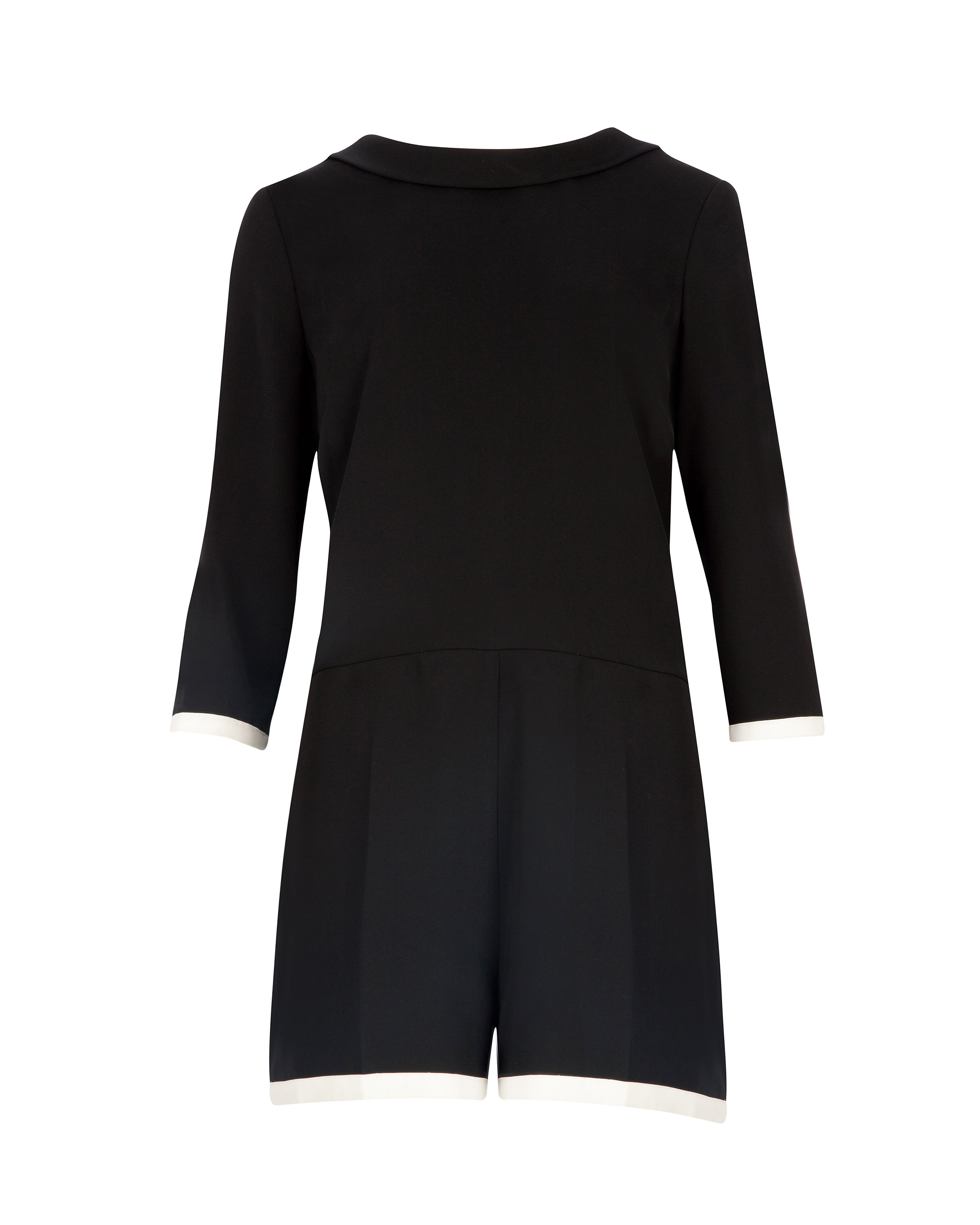 Mertica long sleeve playsuit