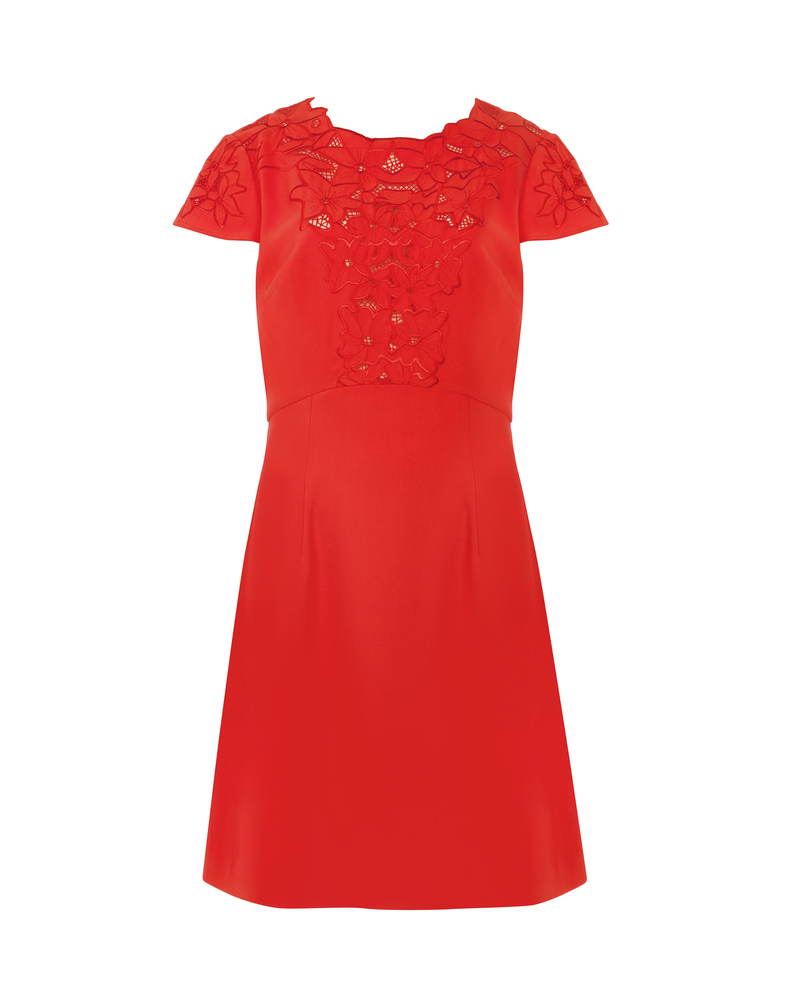 Tuluua lace embriodered dress