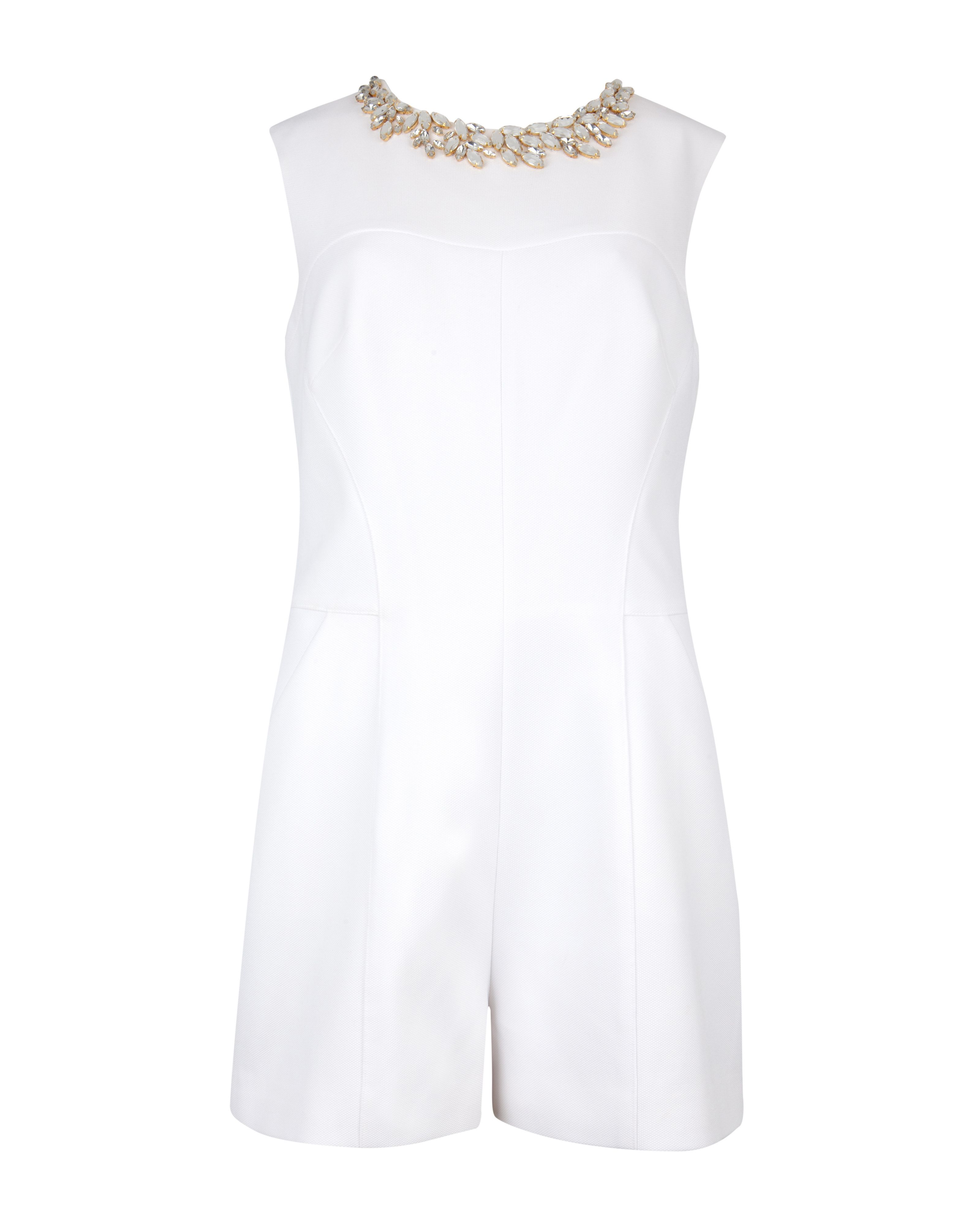 Anaeya embellished playsuit