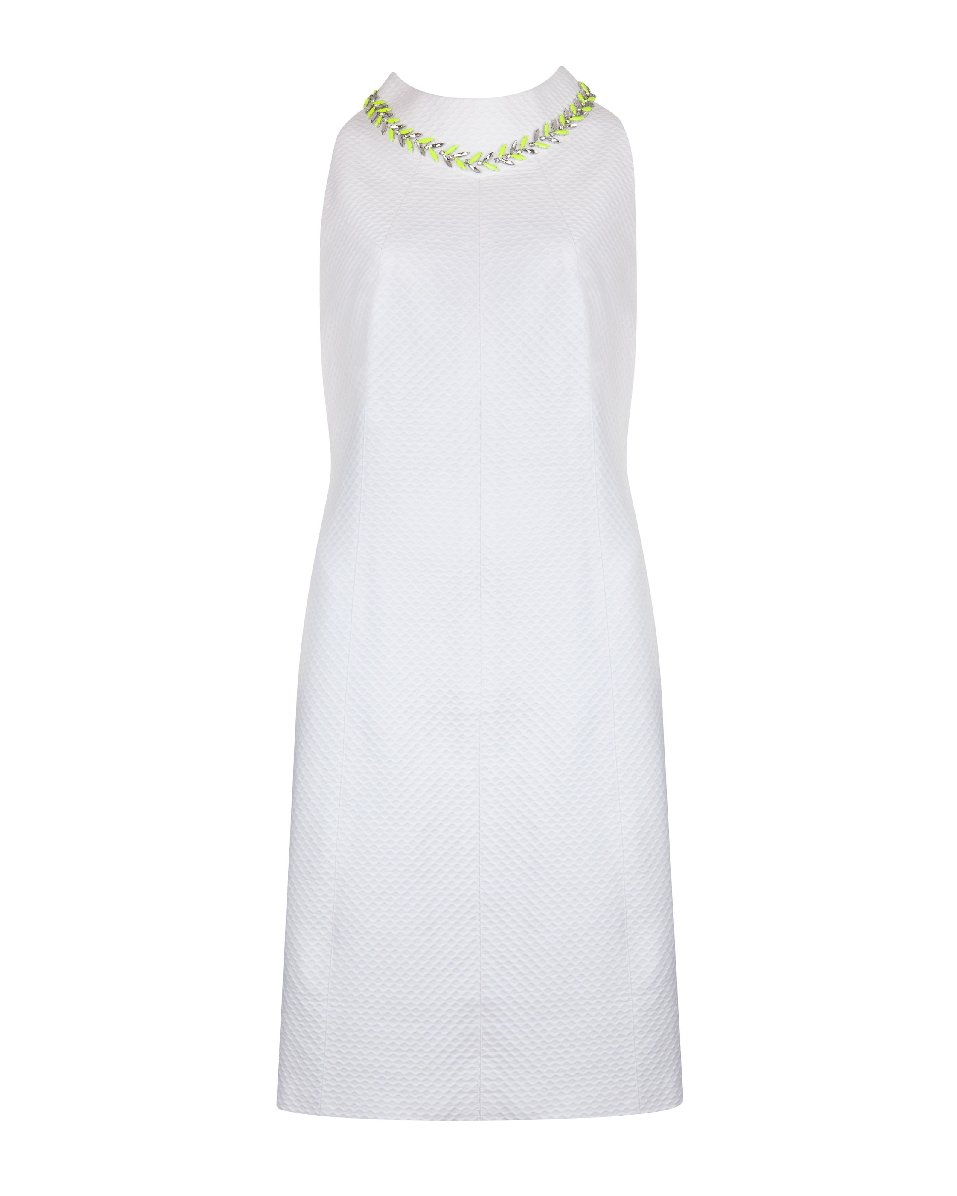 Sabelle embroidered shift dress