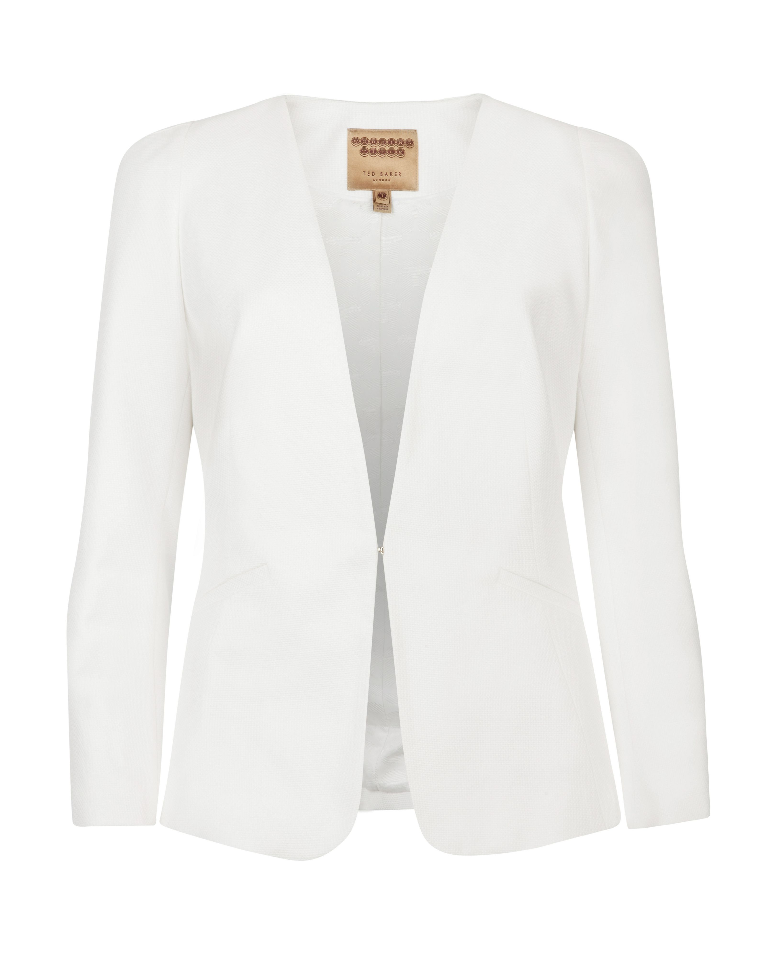 Essiye structured shoulder jacket
