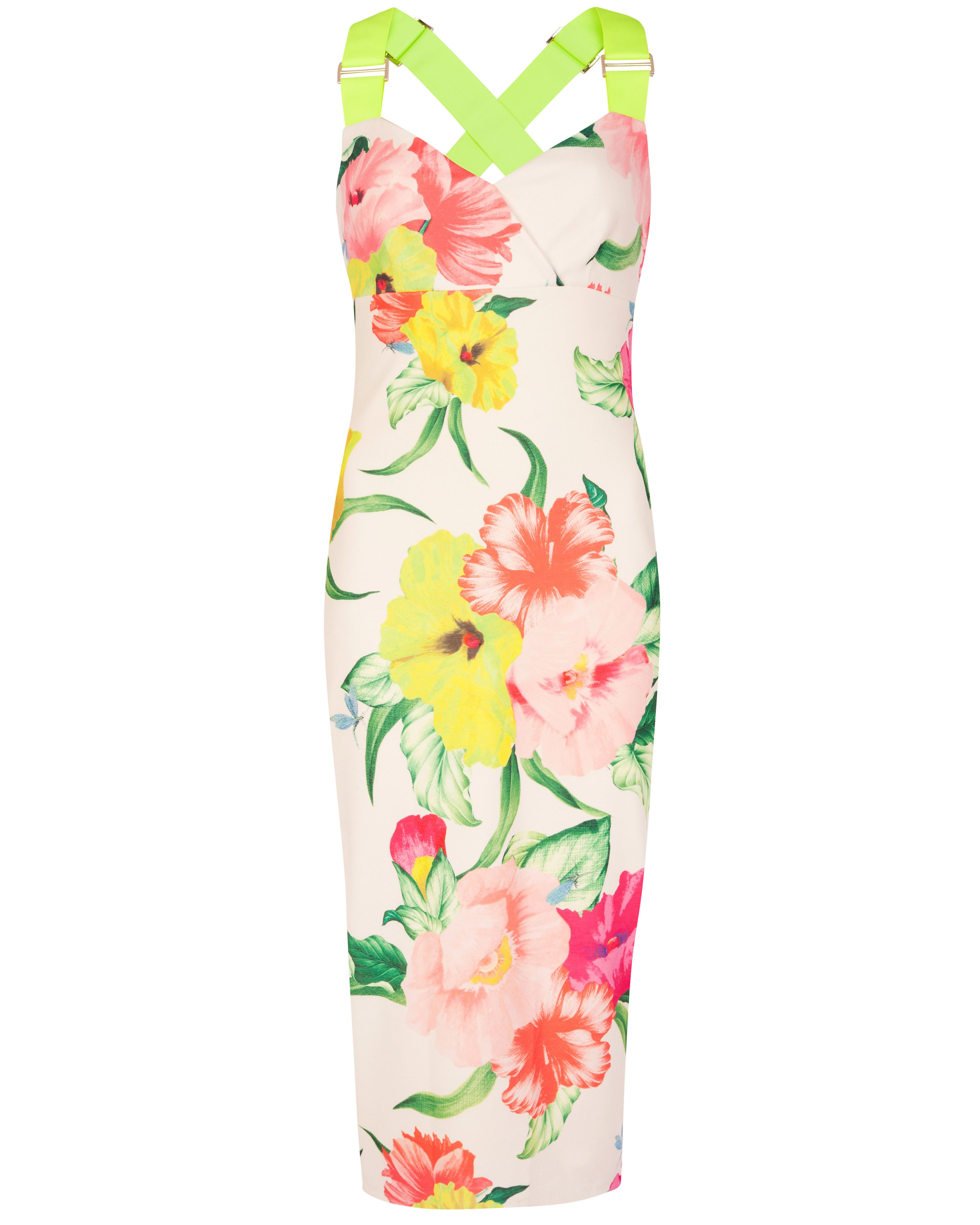 Taylar floral printed dress