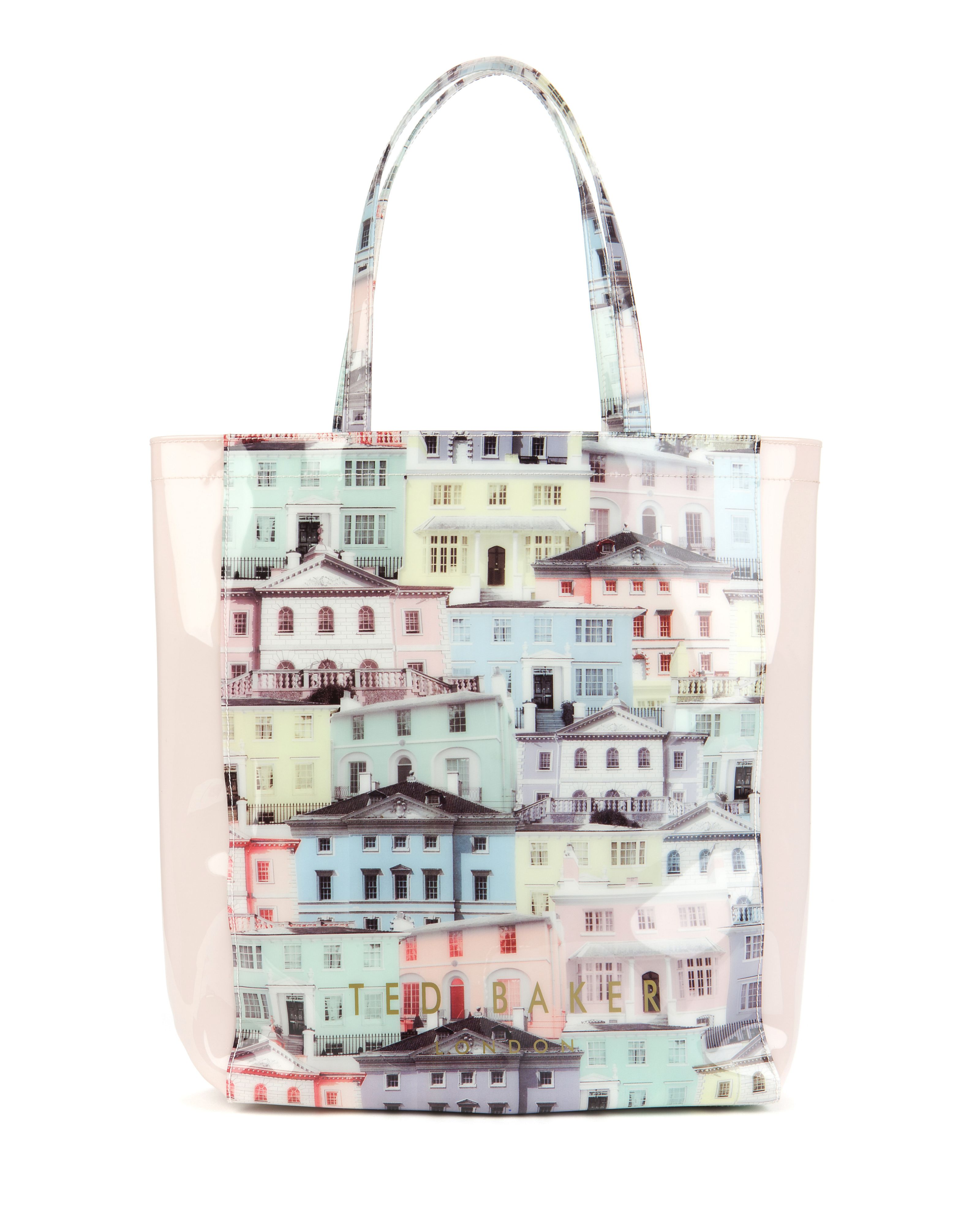 Regcon Houses print shopper bag