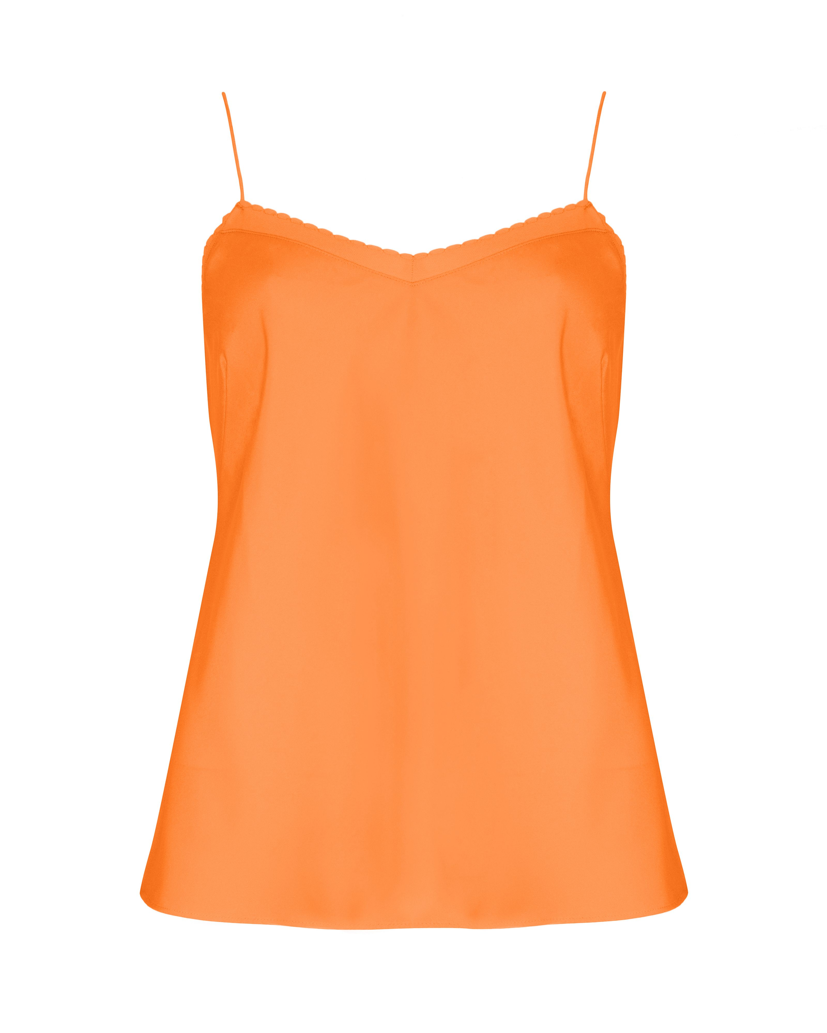 Tissa scalloped edge camisole