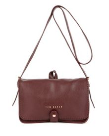 Markun Leather stab stitch bag