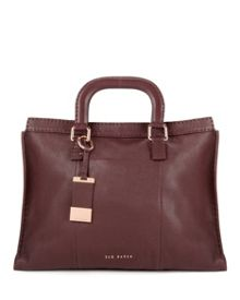 Tottier Leather stab stitch bag