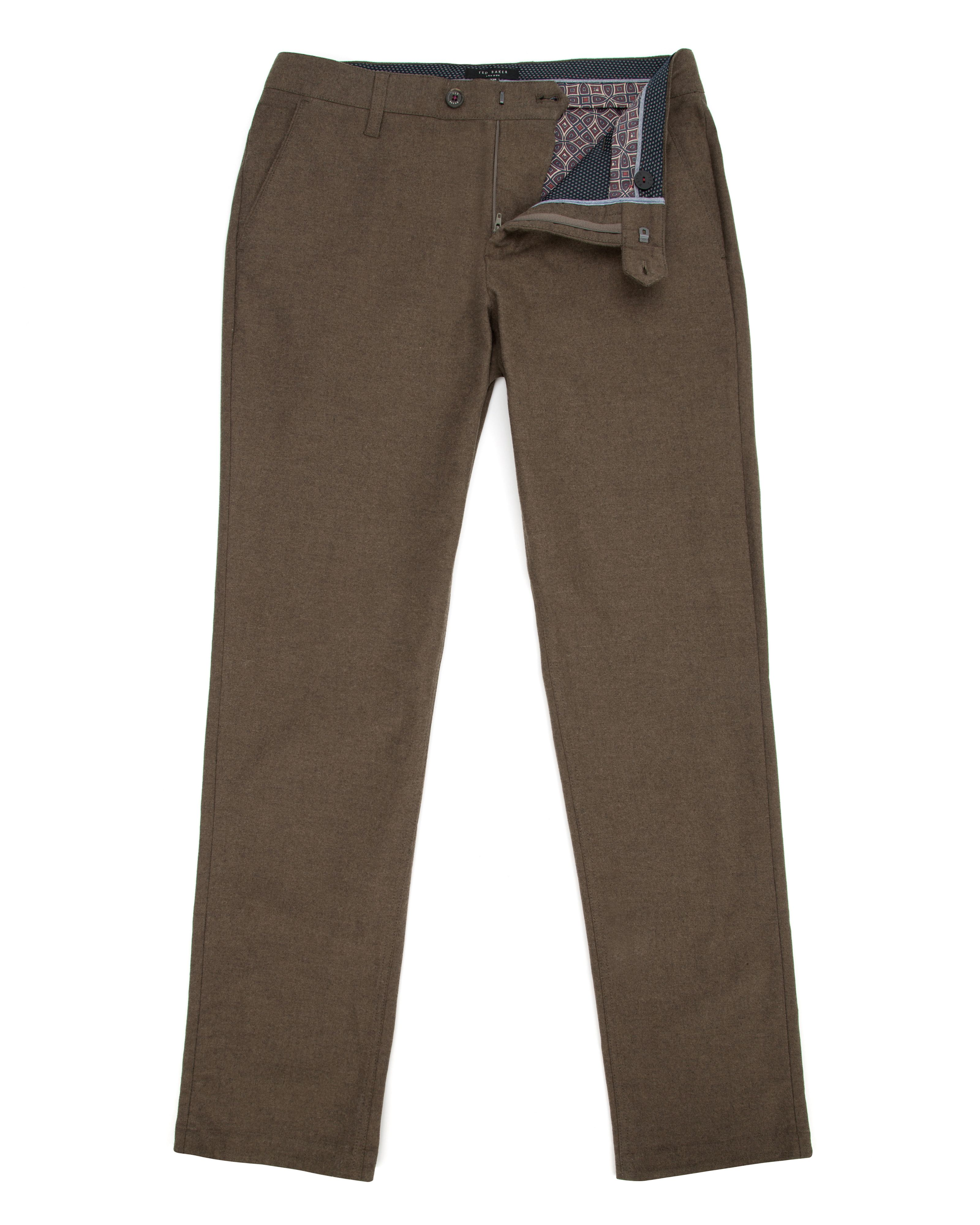 Funwig classic fit brushed cotton chino
