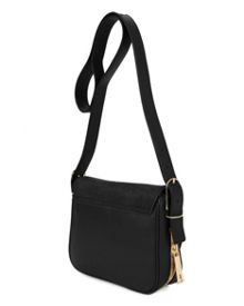 Mazeful large zip leather bag