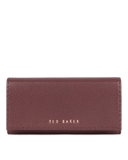 Ted Baker Sizzer stab stitch leather purse