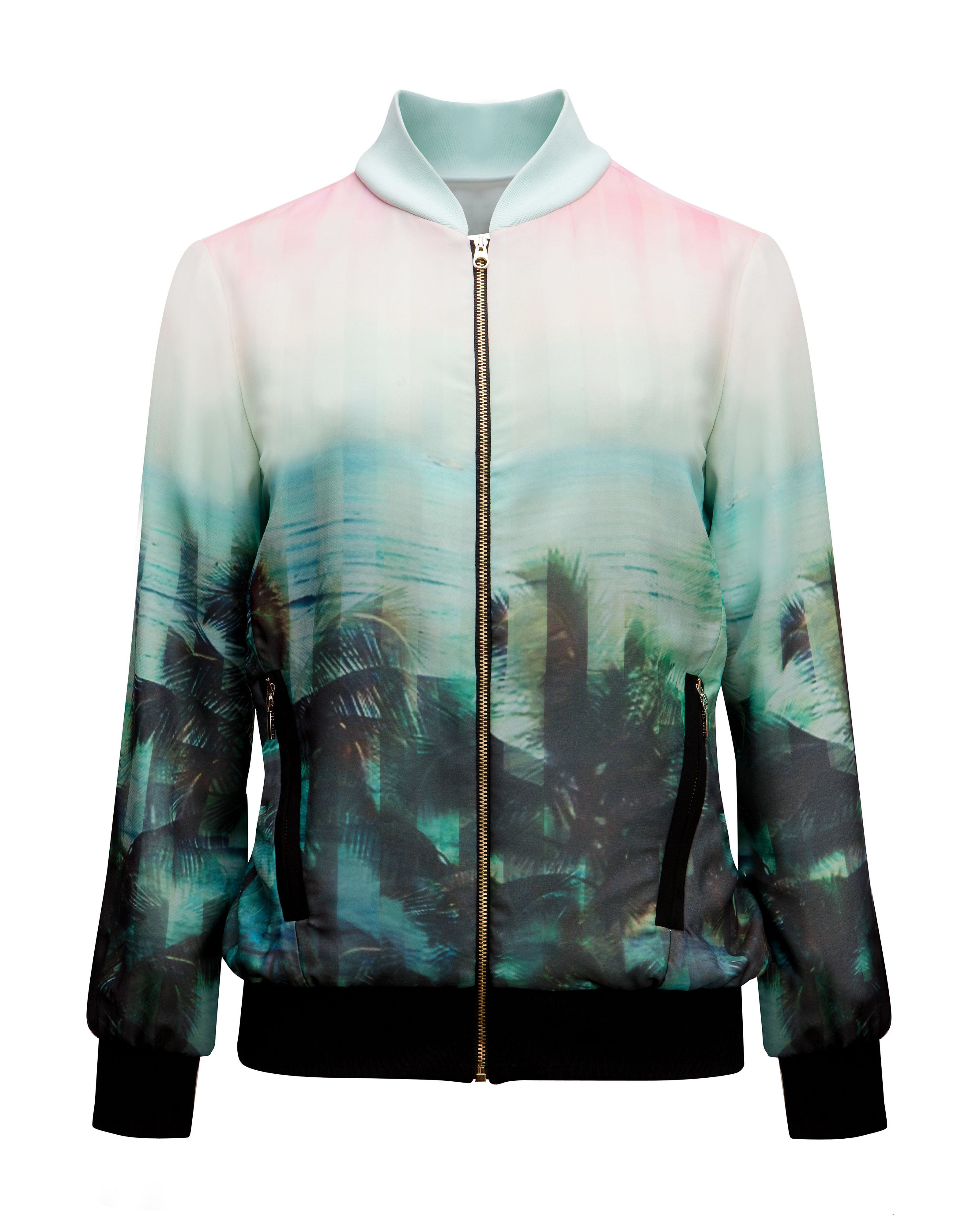 Boyanna palm tree paradise jacket