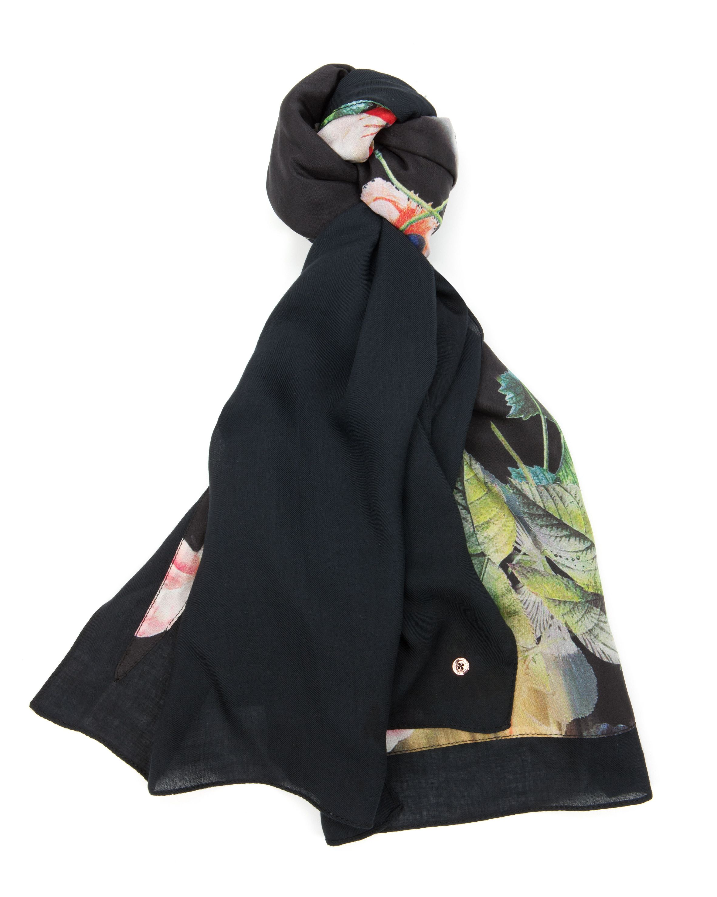 Opuley opulent bloom split scarf