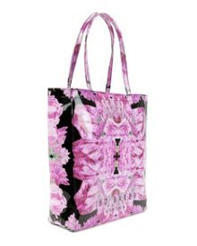 Large tulicon tender tulip print icon bag