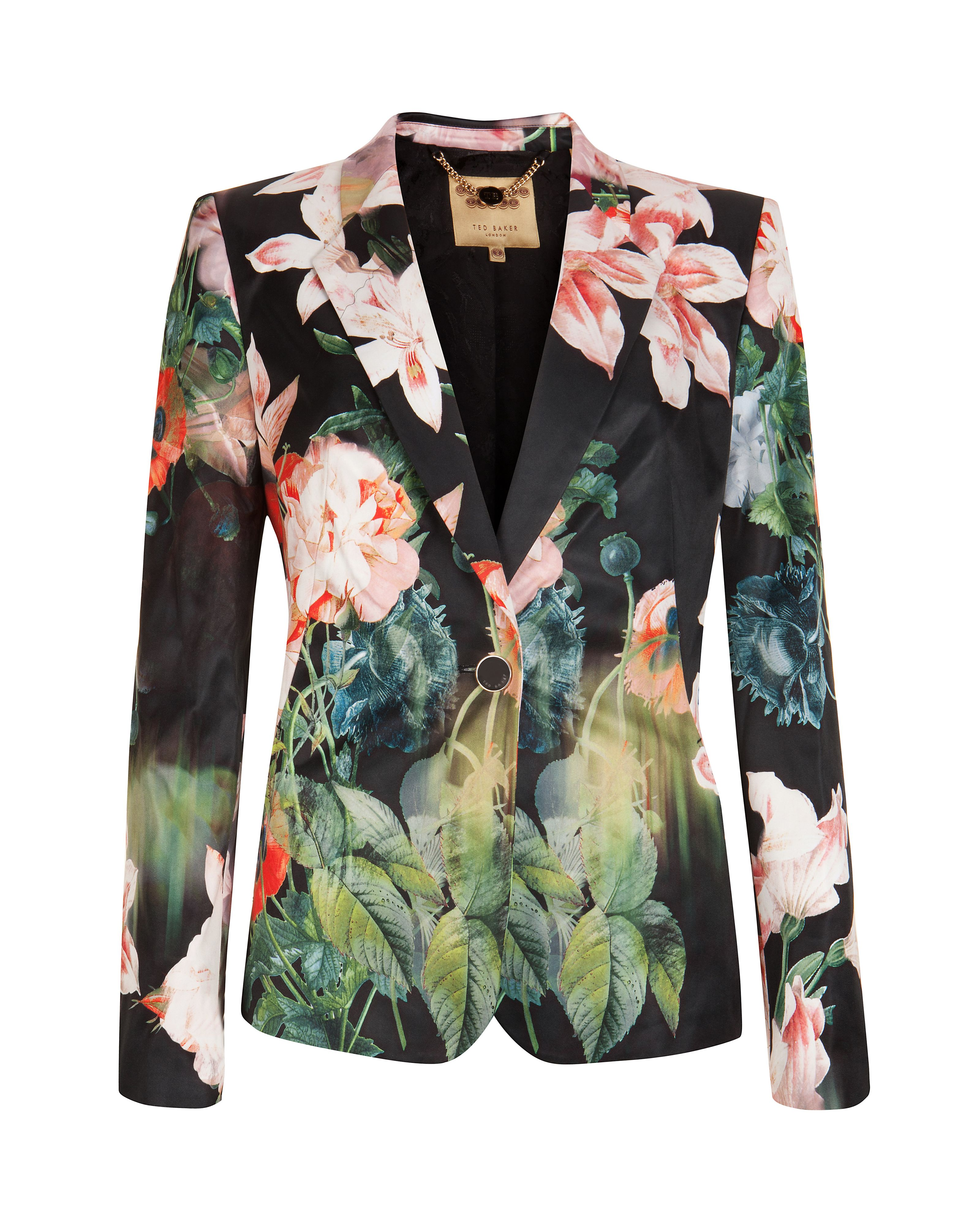 Ohiyo opulent bloom suit jacket