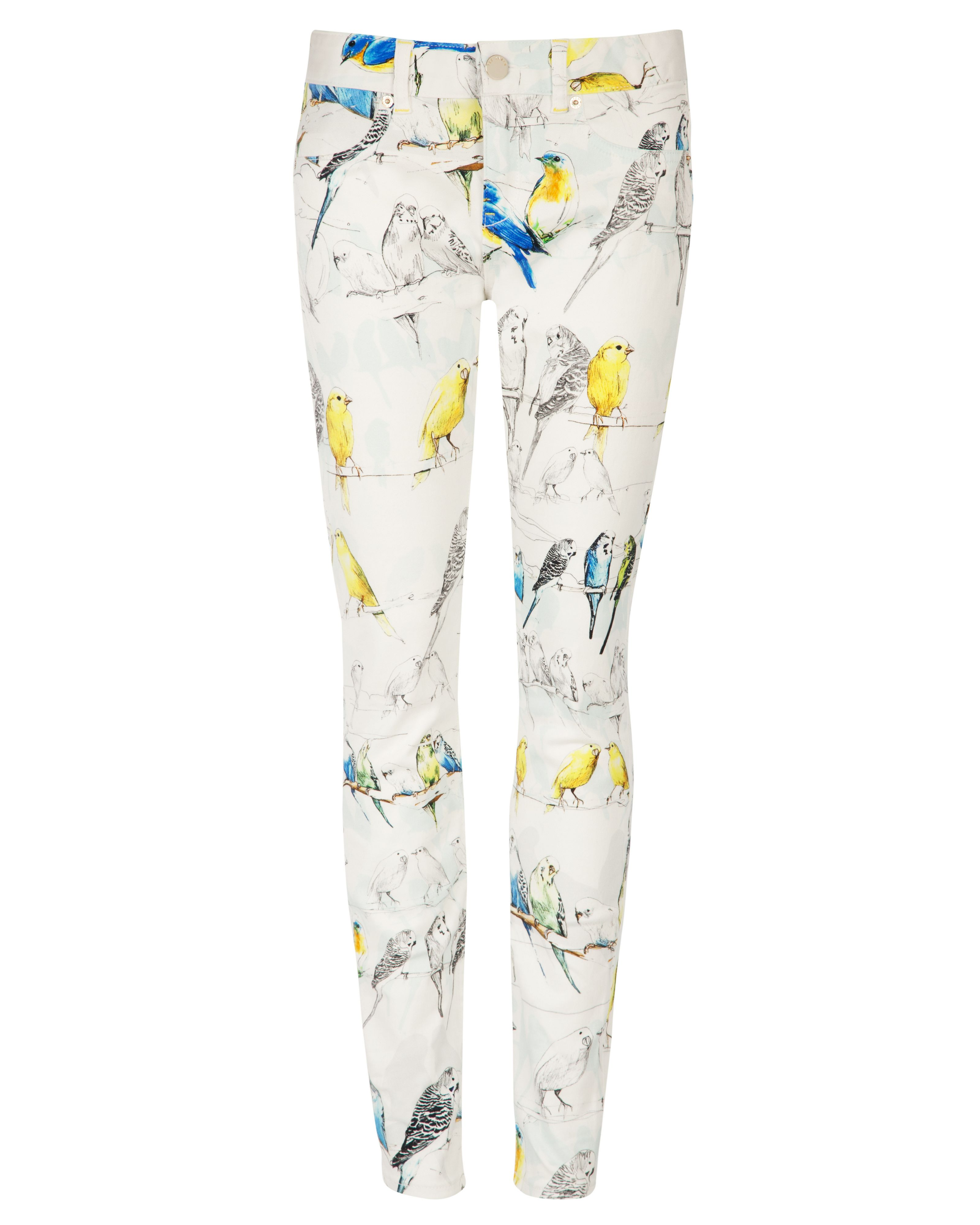 Caarra canary print denim