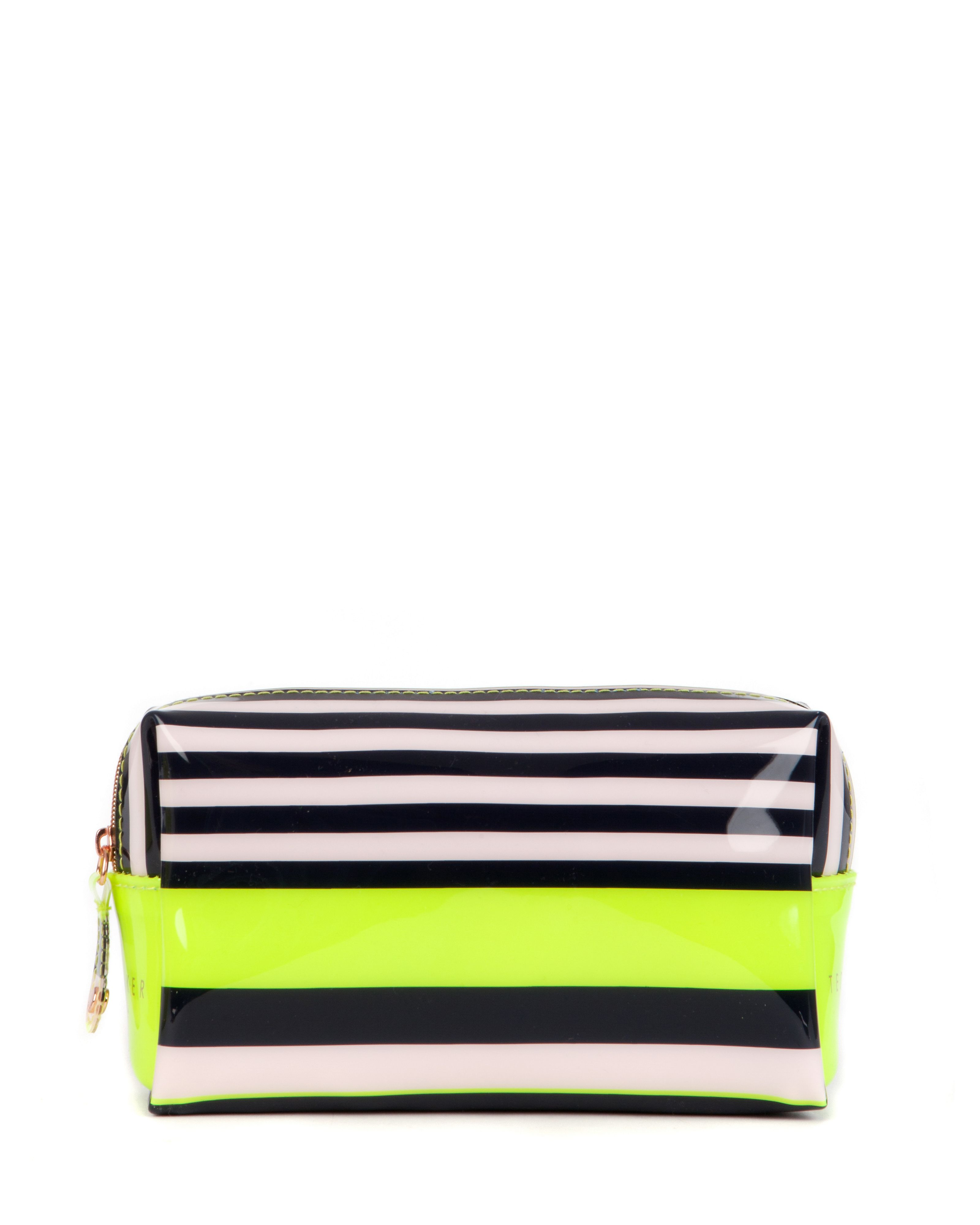 Glender small candy stripe washbag