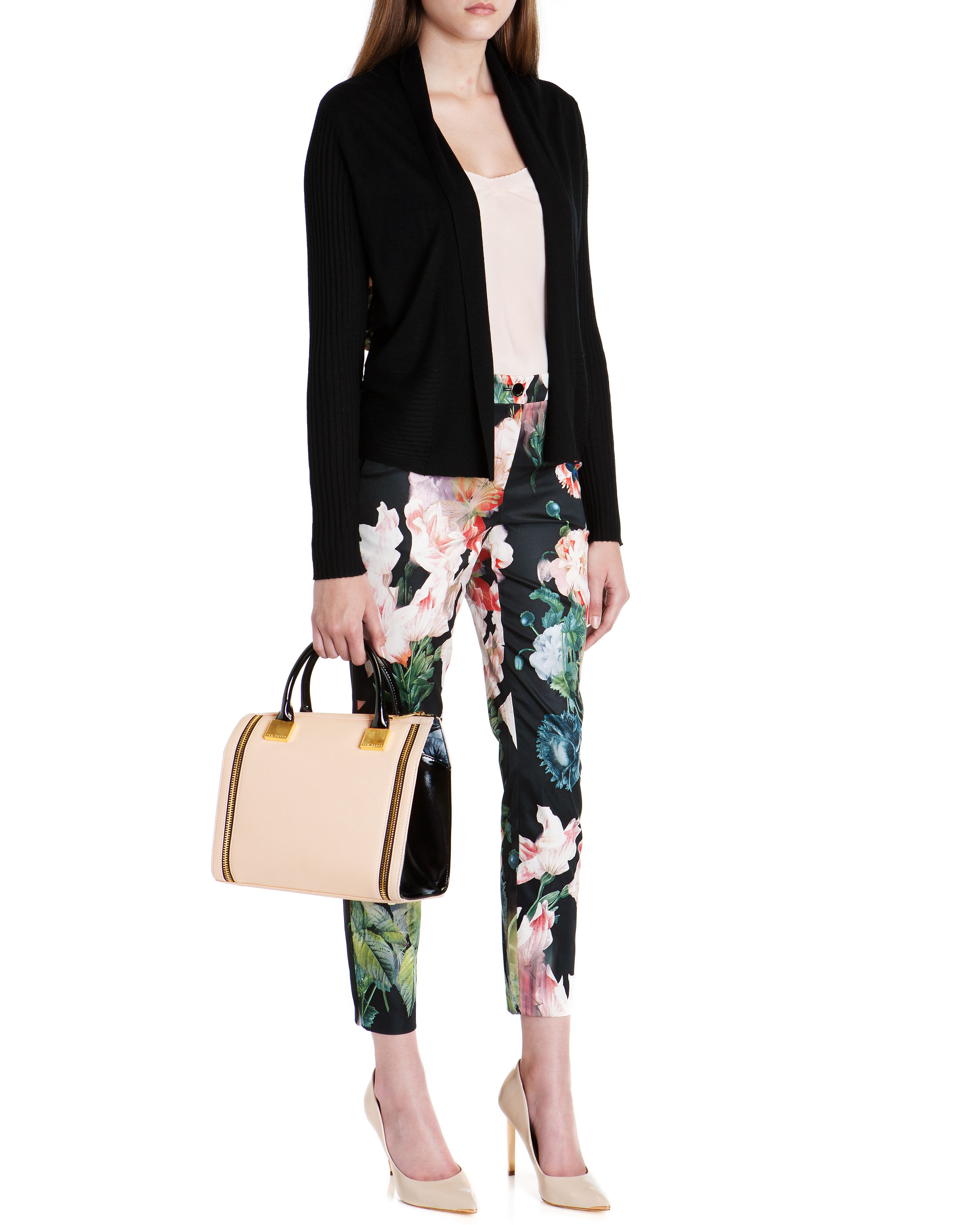 Aasha opulent bloom print trouser
