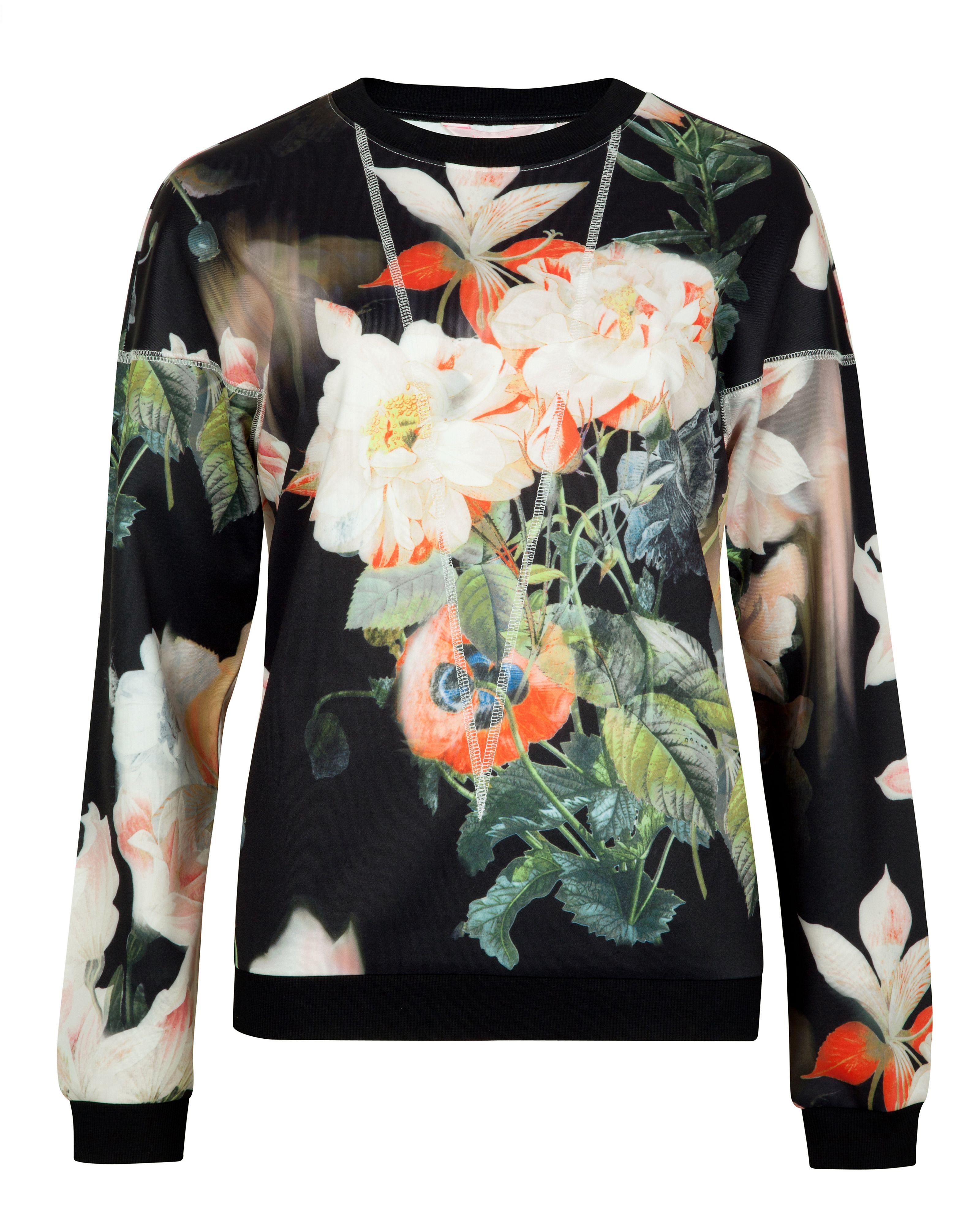Dembrr opulent bloom print sweater