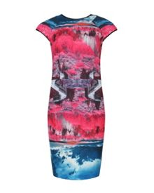 Ismay road to nowhere print dress