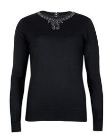 Halie embellished jumper