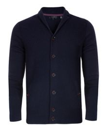 Askham smart wool blend cardigan