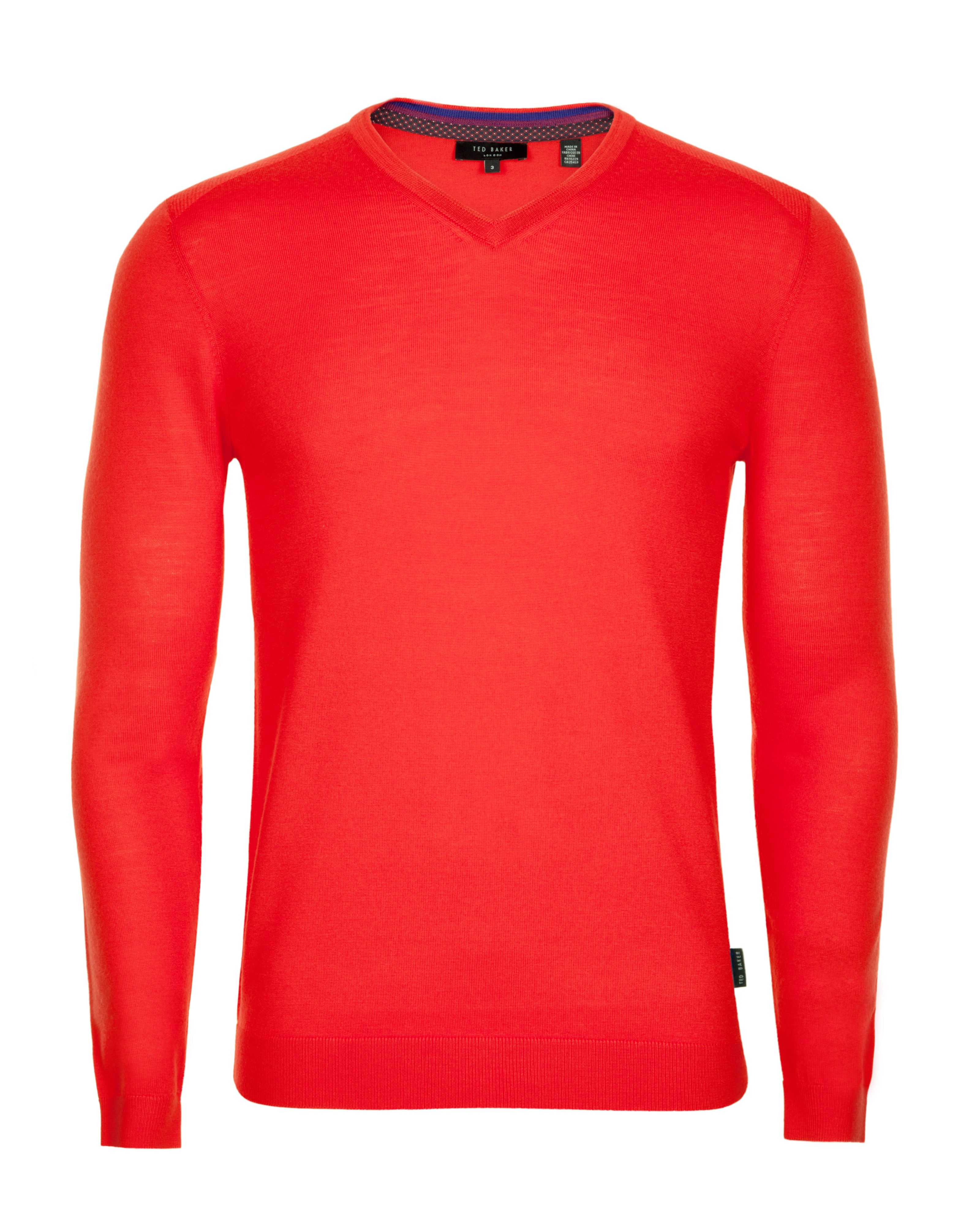 Babel merino v neck jumper