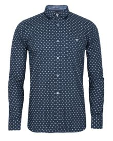 Cross long sleeve cross print shirt