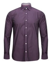 Whosays dobby jacquard shirt