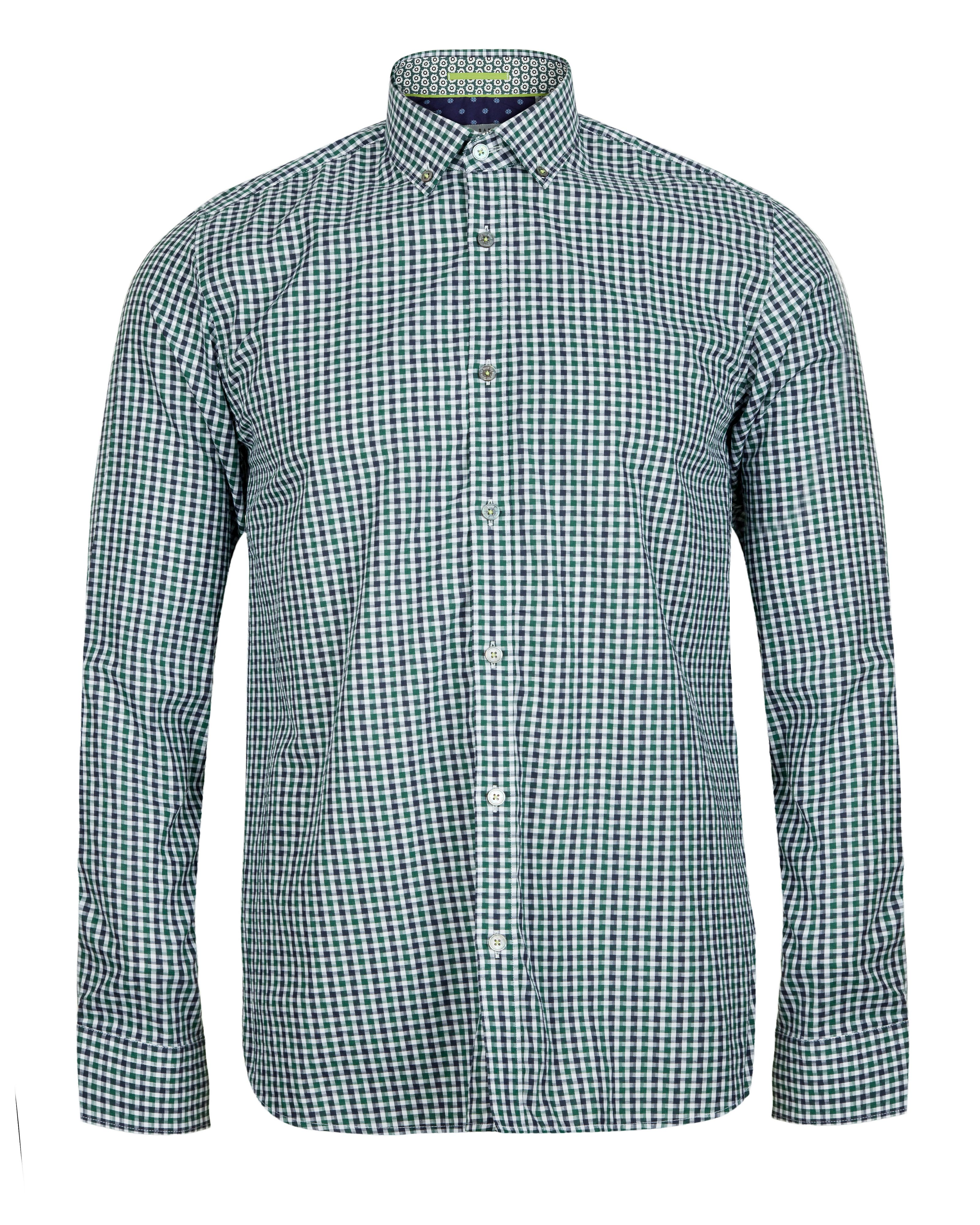 Dannoo twill check shirt