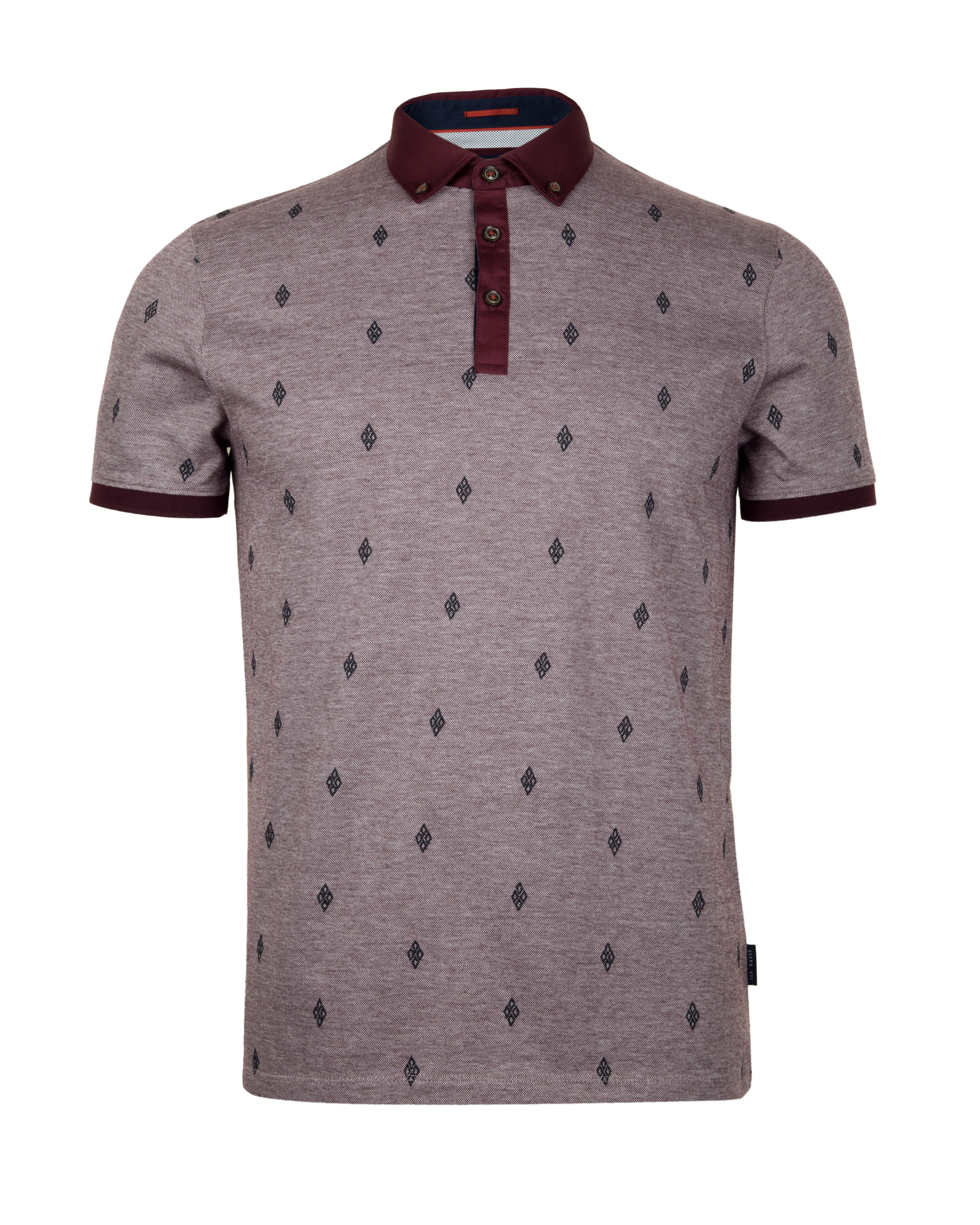 Hurn embroided polo shirt
