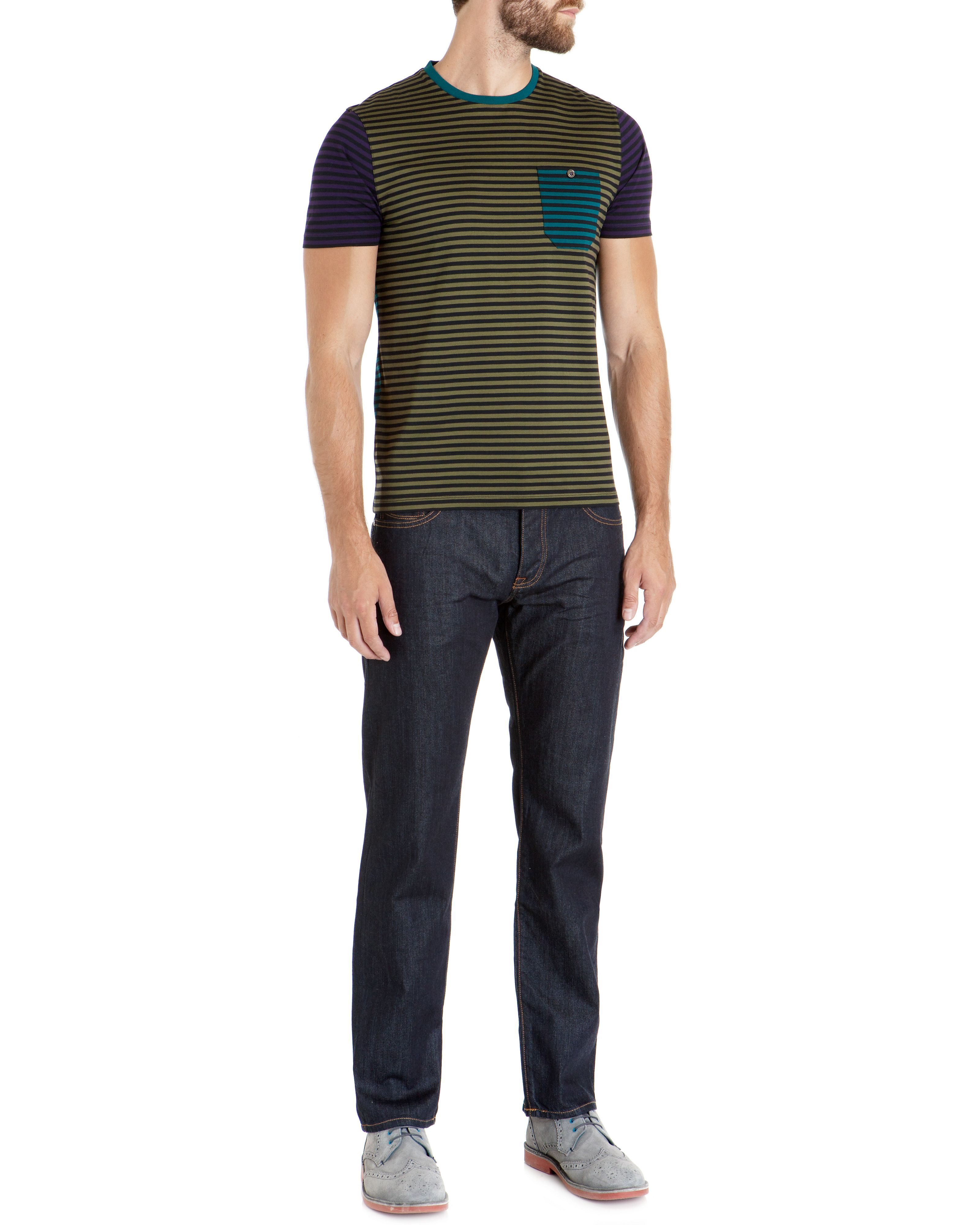 Karnak striped crew neck t-shirt