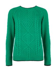Verbos cable knit jumper