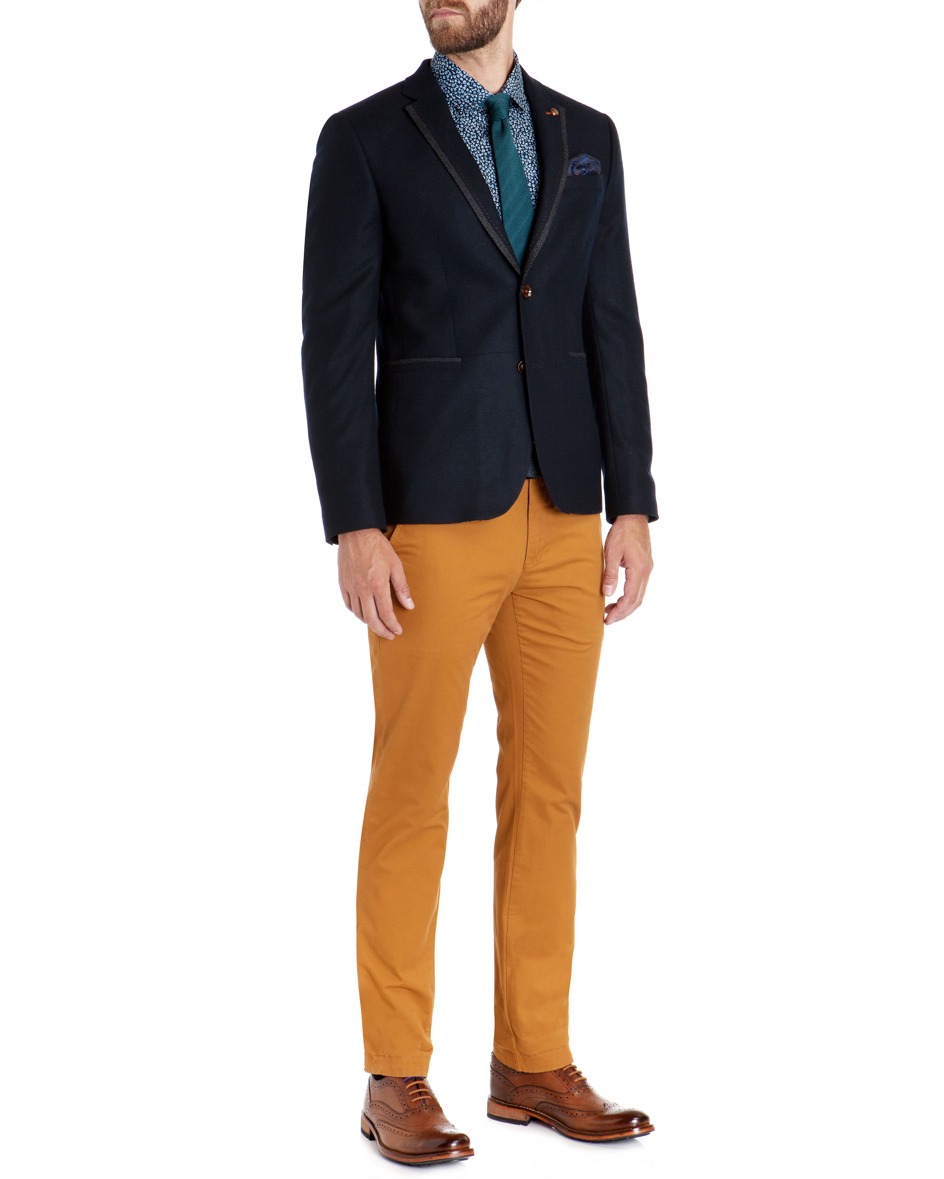 Clegan slim fit chino