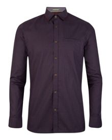 Toocalm check collar shirt