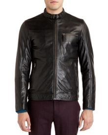 Visery leather jacket