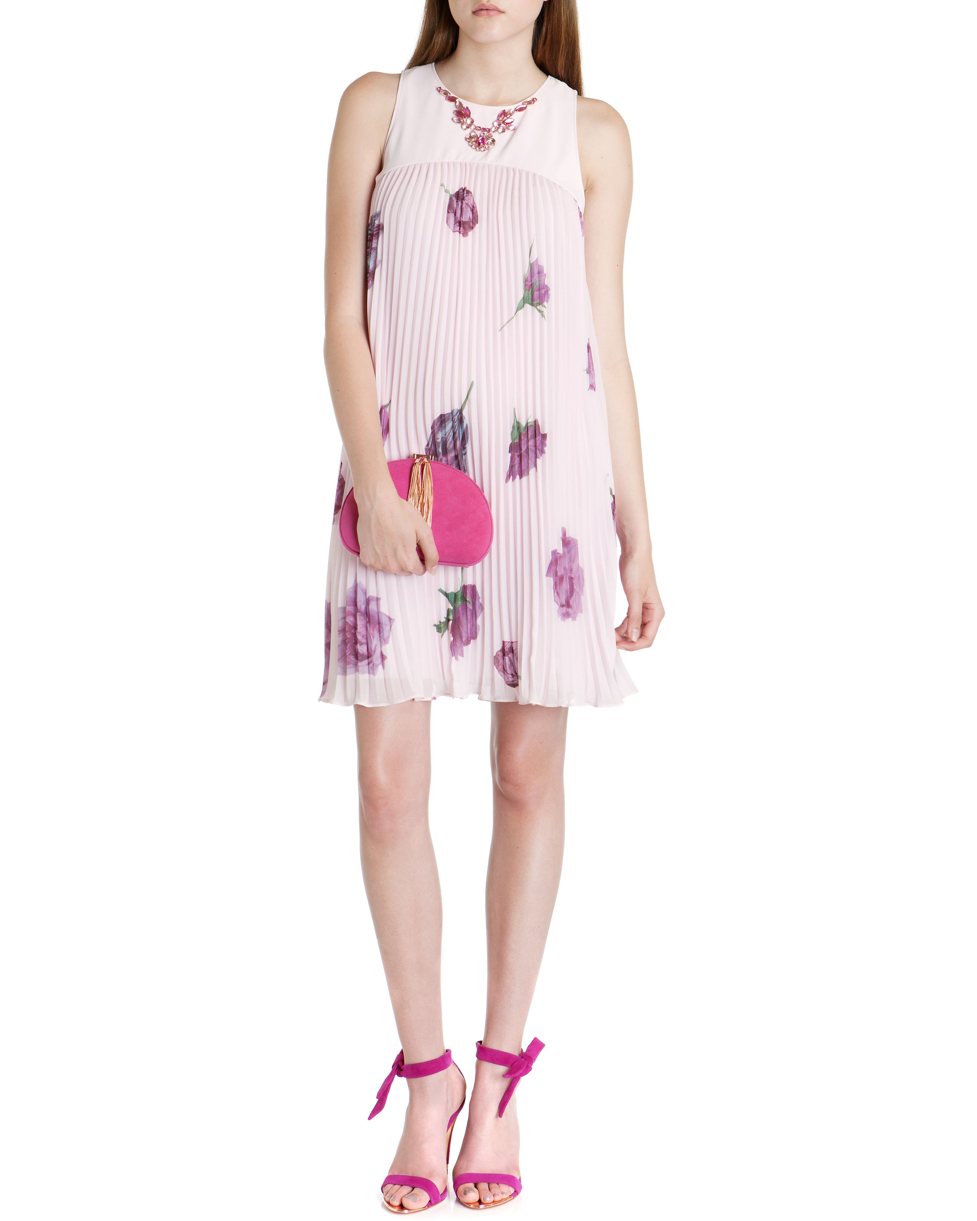 Enika tulip print skirt dress