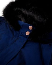 Parkit hooded parka coat