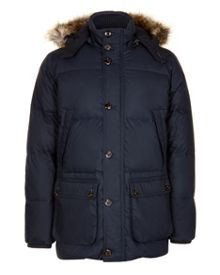 Amorie down filled hooded coat