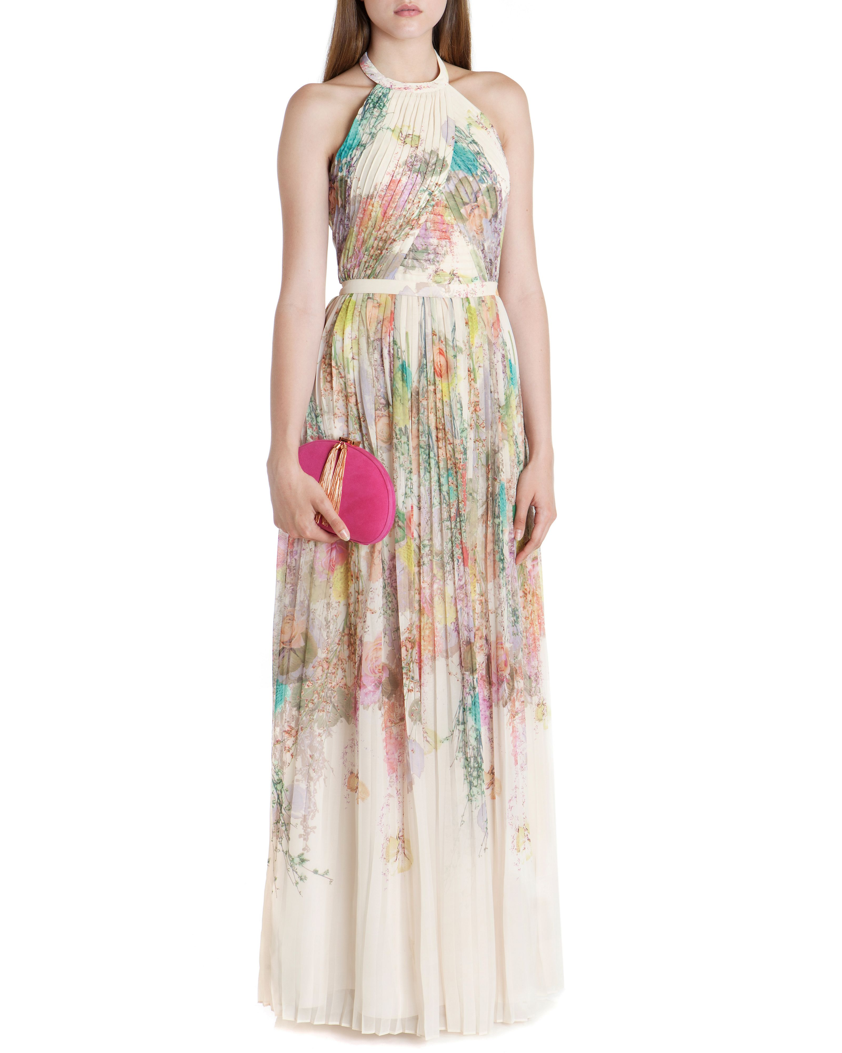 Pearpa wispy meadow maxi dress