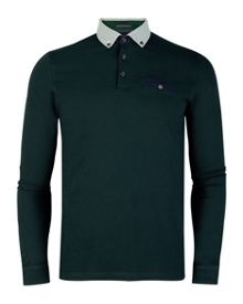 Cantillo check collar polo