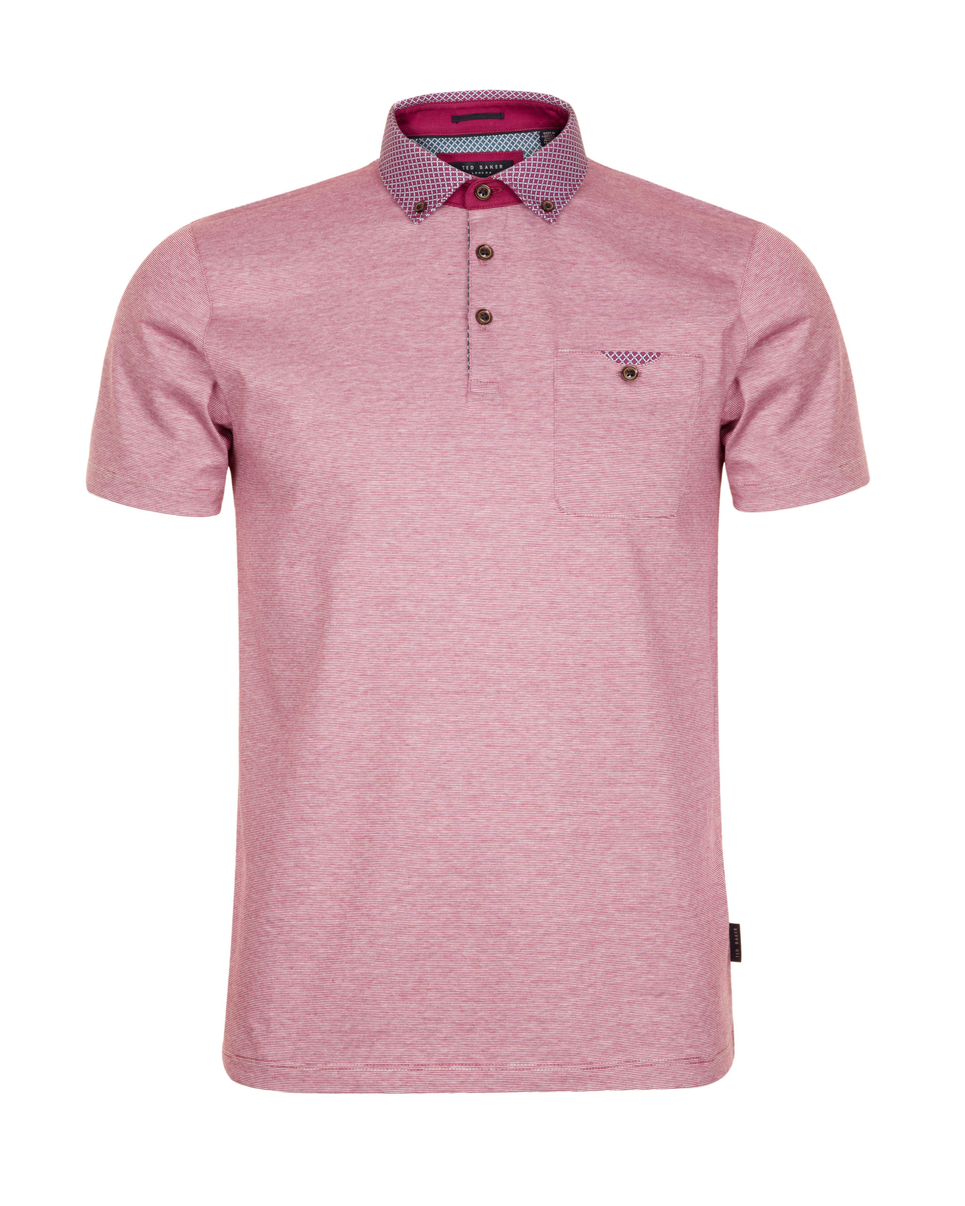 Benekey woven colour polo shirt