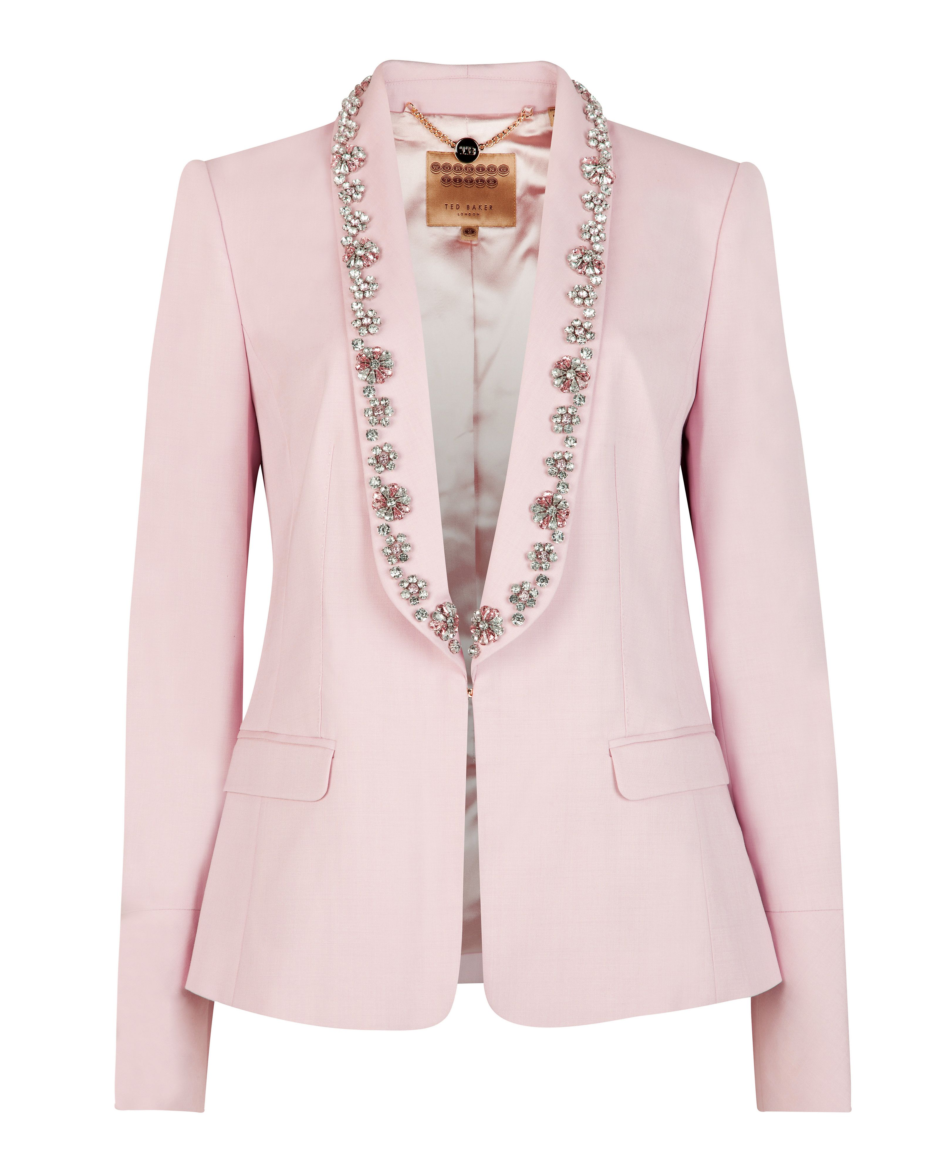 Kikie embellished suit jacket