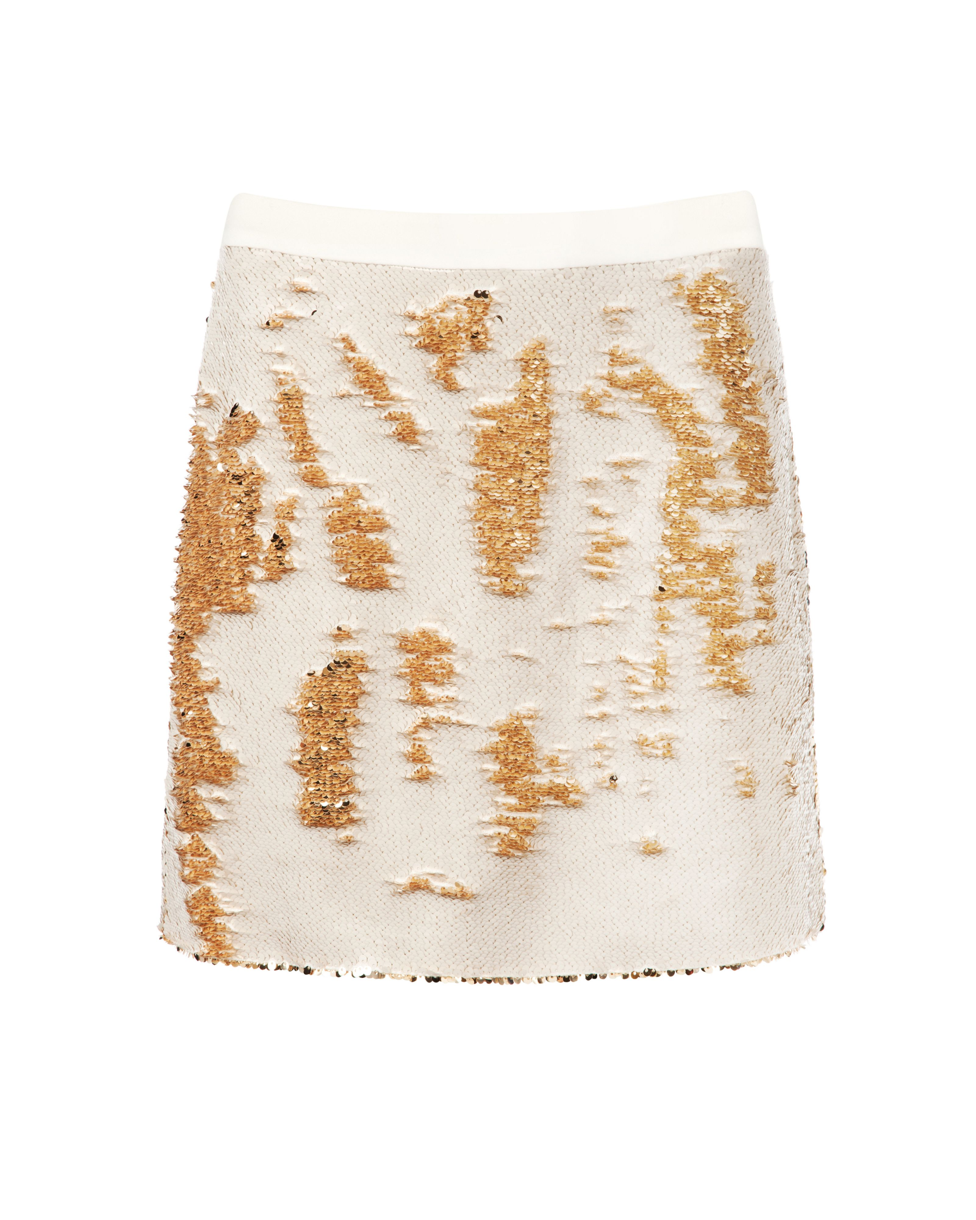 Joleigh sequin mini skirt