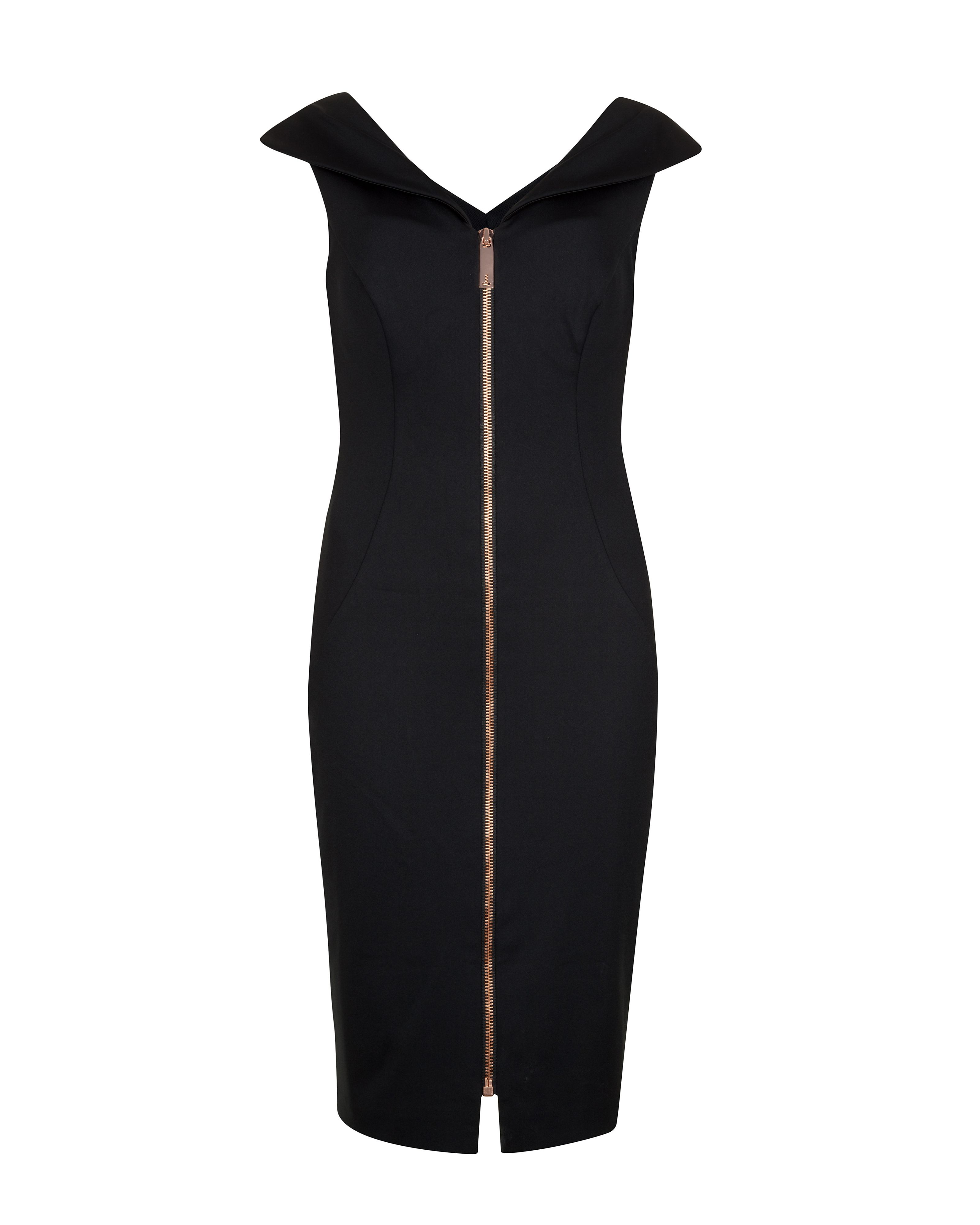 Ravana dart detail body con dress