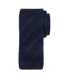 Watchet knitted tie