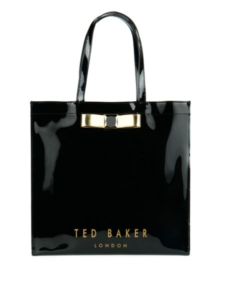 Ted Baker Julecon Large crystal bow shopper