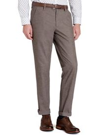 Lommy classic fit brushed cotton trouser