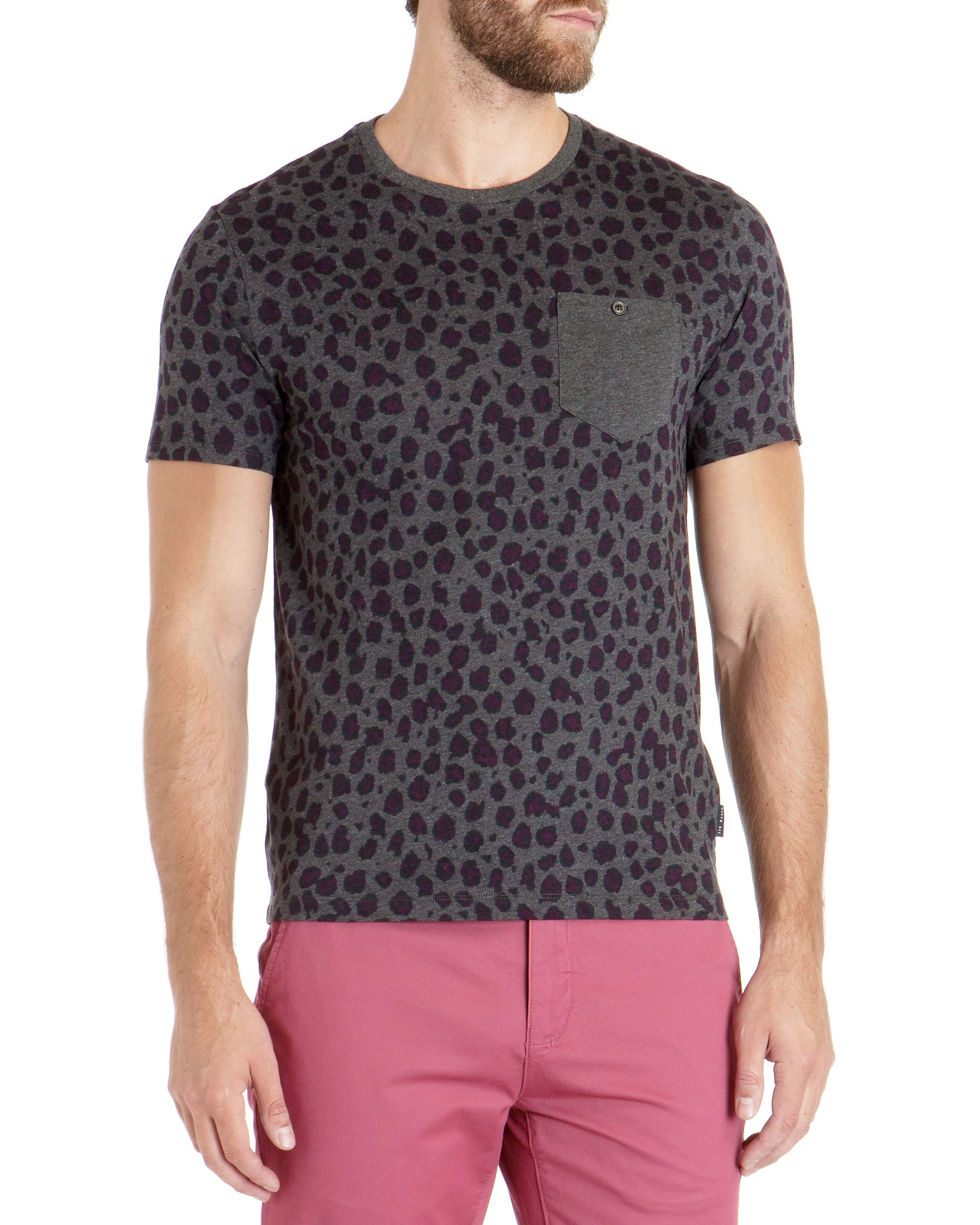 Colton leopard print top