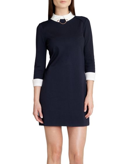 Ted Baker Wubty contrast collar dress