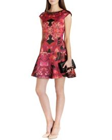 Eekky jungle orchid print dress