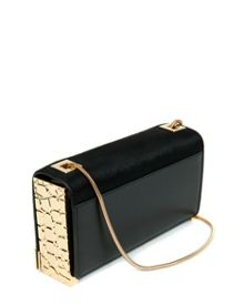 Soukous chain strap box clutch bag
